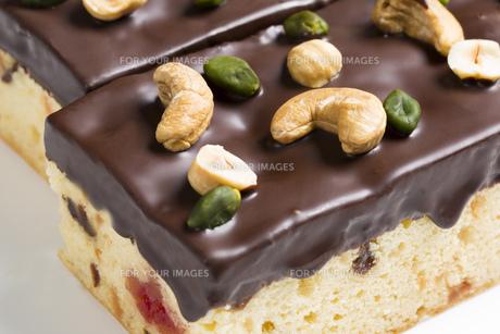チョコレートケーキの素材 [FYI00025944]