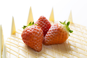ホワイトデーケーキの写真素材 [FYI00025962]