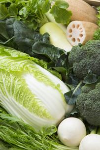 冬野菜の写真素材 [FYI00026018]