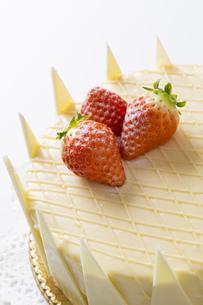 ホワイトデーケーキの写真素材 [FYI00026036]