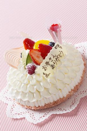 母の日ケーキの写真素材 [FYI00026112]