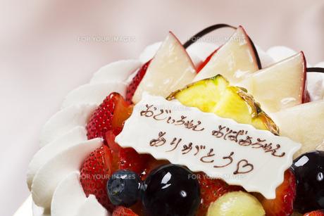 敬老の日のケーキの写真素材 [FYI00026113]