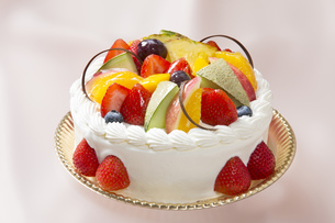 フルーツケーキの写真素材 [FYI00026117]
