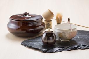 茶道具の写真素材 [FYI00026145]