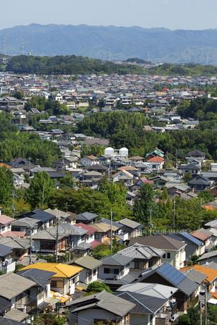 奈良県生駒市の住宅街の素材 [FYI00026199]