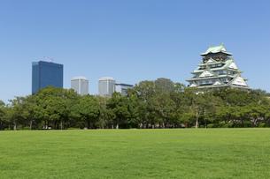 大阪城とビジネスパークの素材 [FYI00026213]