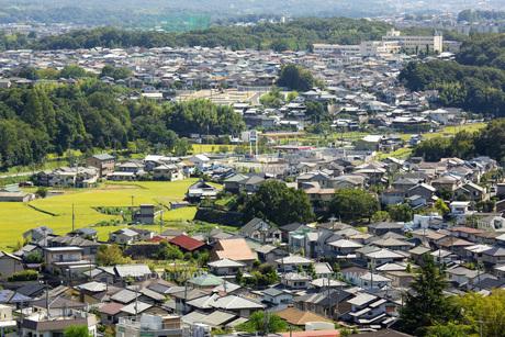 奈良県生駒市の住宅街の素材 [FYI00026246]