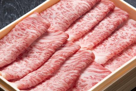 霜降り牛肉の写真素材 [FYI00026271]