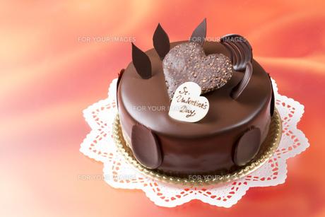 バレンタインチョコケーキの素材 [FYI00026272]