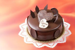 バレンタインチョコケーキの写真素材 [FYI00026272]