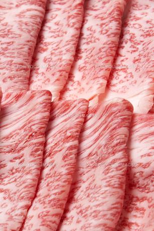 霜降り牛肉の写真素材 [FYI00026283]