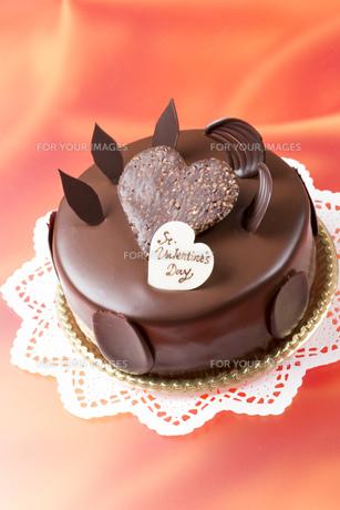 バレンタインチョコケーキの素材 [FYI00026295]