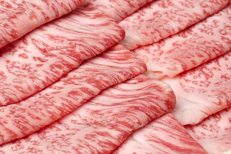 霜降り牛肉の写真素材 [FYI00026296]