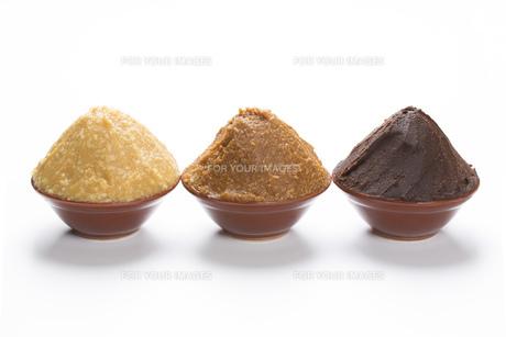 米味噌と大豆味噌の写真素材 [FYI00026319]
