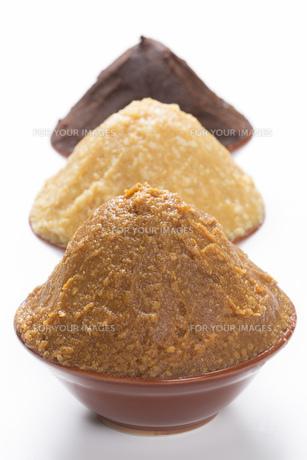 米味噌と大豆味噌の写真素材 [FYI00026334]