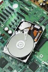 ハードディスクの写真素材 [FYI00026395]