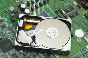 ハードディスクの写真素材 [FYI00026449]