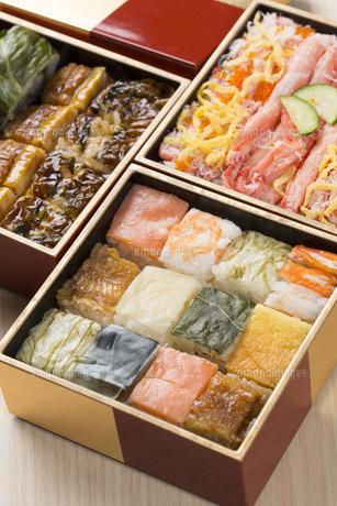 箱寿司の写真素材 [FYI00026633]