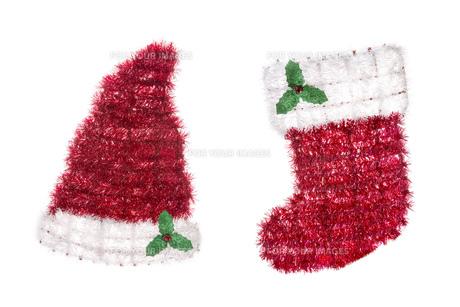 クリスマス用品の写真素材 [FYI00026784]
