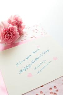 母の日のメッセージカードの素材 [FYI00026945]