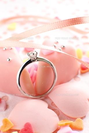 婚約指輪の写真素材 [FYI00026986]