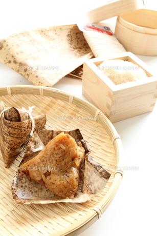 粽と調理材料の素材 [FYI00027015]