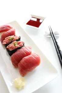 マグロのお寿司の写真素材 [FYI00027087]