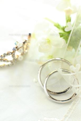 結婚指輪の写真素材 [FYI00027390]