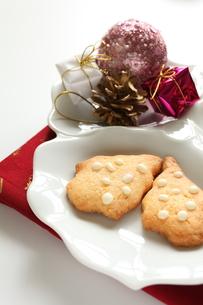 クリスマスクッキーの写真素材 [FYI00027609]