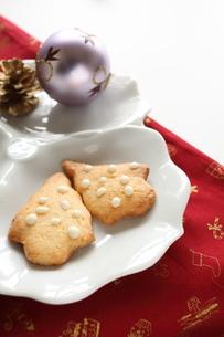 クリスマスクッキーの写真素材 [FYI00027625]