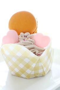 バレンタインケーキの写真素材 [FYI00028034]