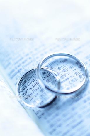 結婚指輪の写真素材 [FYI00028197]