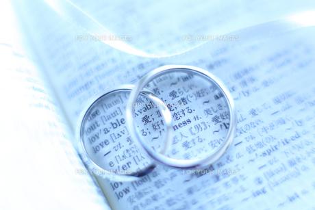 結婚指輪の写真素材 [FYI00028198]
