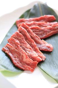 国産カルビ肉の写真素材 [FYI00028206]