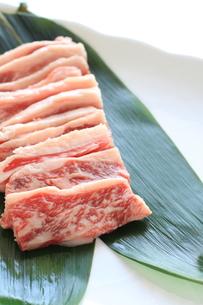 国産カルビ肉の写真素材 [FYI00028208]