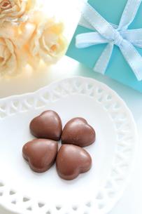 ハートチョコレートの素材 [FYI00028286]