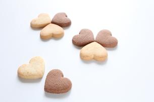 ハートクッキーの写真素材 [FYI00028301]