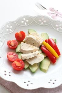 鶏肉のサラダの素材 [FYI00028319]