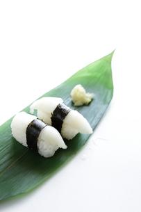 縁側のお寿司の素材 [FYI00028447]