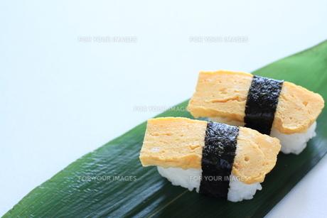 タマゴ寿司の素材 [FYI00028458]