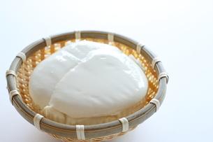 絹ごし豆腐の写真素材 [FYI00028585]