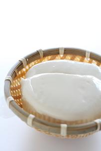 絹ごし豆腐の写真素材 [FYI00028586]