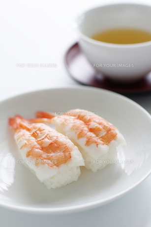 エビ寿司の素材 [FYI00028618]