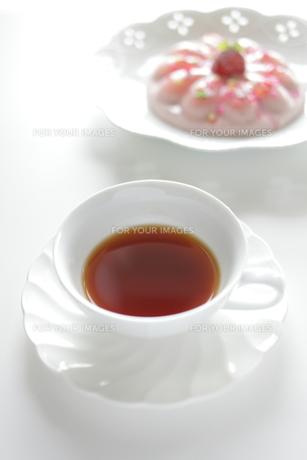 紅茶とデザートの素材 [FYI00028777]