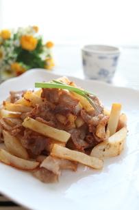 ポテトと豚肉の炒め物の素材 [FYI00028827]