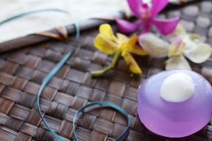 アロマ石鹸の写真素材 [FYI00029019]