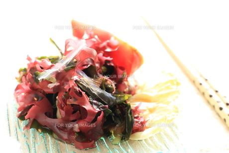 海藻と寒天サラダの素材 [FYI00029079]