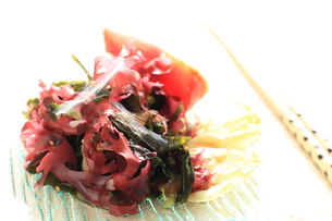 海藻と寒天サラダの写真素材 [FYI00029079]