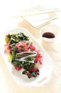 海藻サラダの写真素材 [FYI00029089]