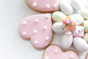婚約指輪の写真素材 [FYI00029278]